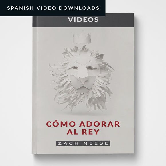 Spanish How to Worship a King Video Series (Downloads)
