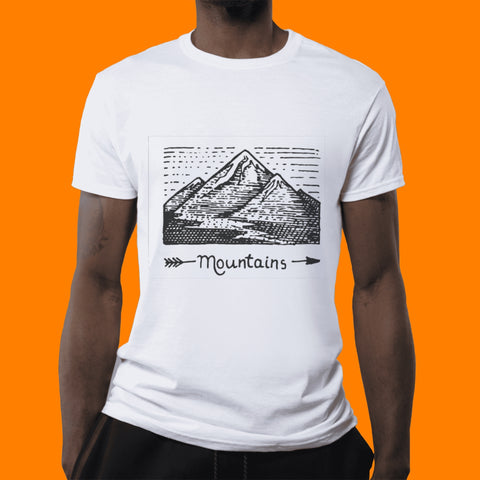 Playera Mountains Personalizable