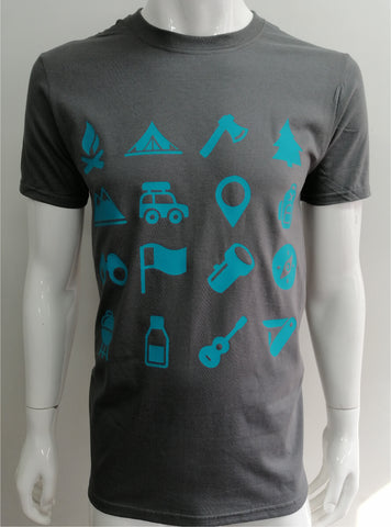 Playera Iconos Camp