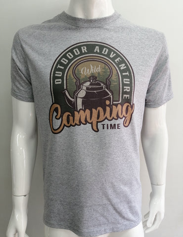 Playera Camping Time