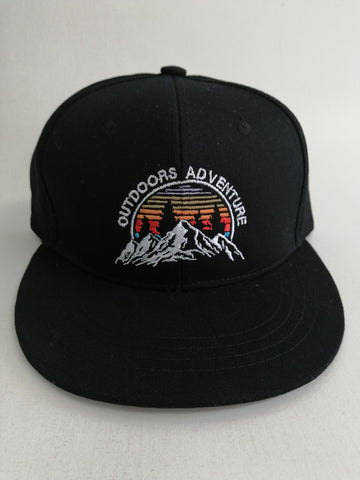 Gorra Outdoors Adventure Negra