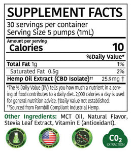 777 Hemp Extract CBD Oil