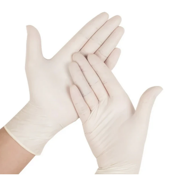 4 MIL Powder-Free Latex Gloves