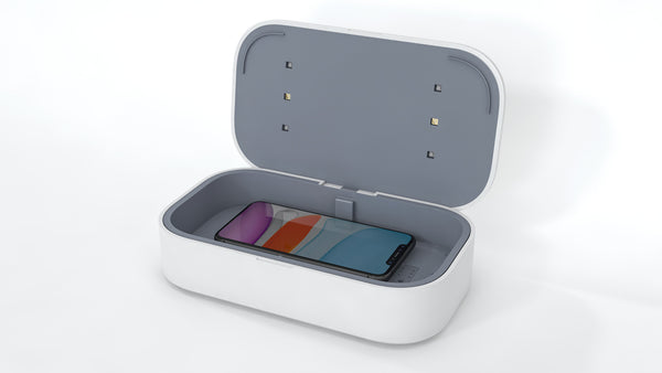 UV-C Sanitizer & Charging Box
