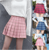 Janpanese Style Pleated Mini Skirt TOP048