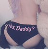 YES DADDY Print Panty TOP027