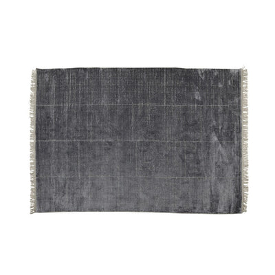 Globewest Adele Tassel Rug in Midnight