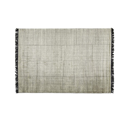 Globewest Adele Tassel Rug in Steel