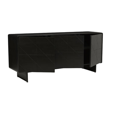 Aiden Sideboard - Charcoal Mahogany