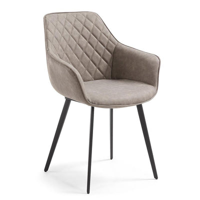 Aminy Arm Chair in Taupe