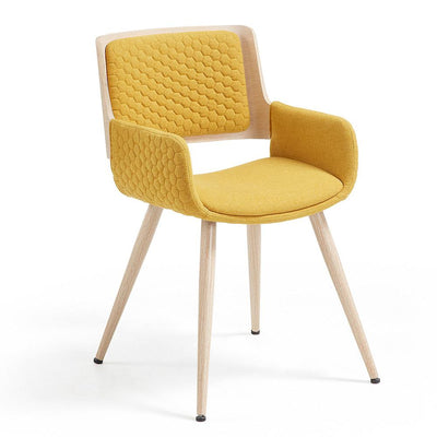 Andre Arm Chair in Mustard