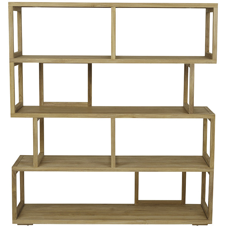Globewest Anja Bookcase in Teak