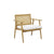 Globewest Anja Occasional Chair - Teak