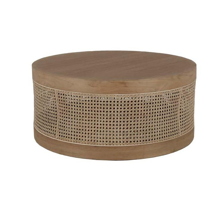 Anja Woven Coffee Table Teak
