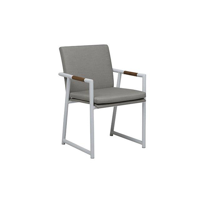 Antigua Dining Armchair Grey
