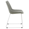 Arnold Dining Chair - White/Grey Speckle