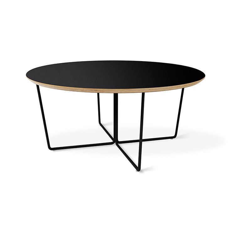 Gus Modern Array Round Coffee Table - Black