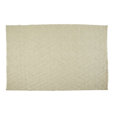 Aura Arrow Rug in Ivory