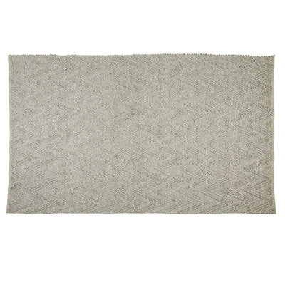 Aura Arrow Rug in Mid Grey