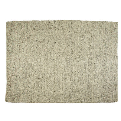 Aura Boucle Rug in Ivory Grey