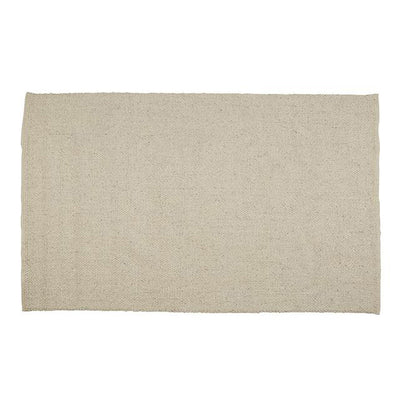 Aura Plain Rug in Ivory