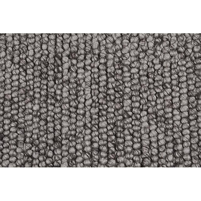 Aura Bobble Rug by Globewest in Metal