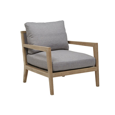 Axiom Occasional Chair in Grey Ash/Light Grey