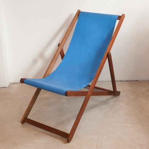 Basic Deckchair with Sunbrella Plain Sling