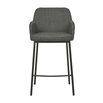 Betty Barstool in Charcoal