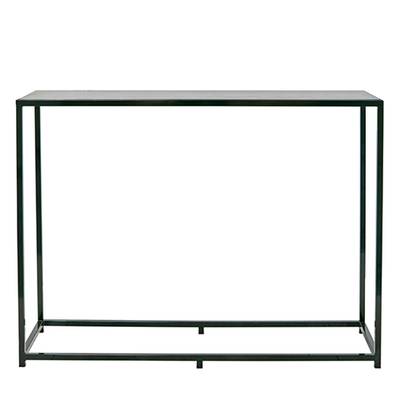 Bijoux Terrazzo Long High Bar - Black Frame in Liquorice