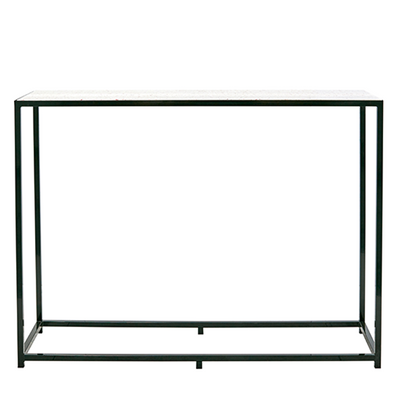 Bijoux Terrazzo Long High Bar - Black Frame in Rosa