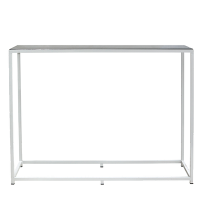 Bijoux Terrazzo Long High Bar - White Frame in Liquorice