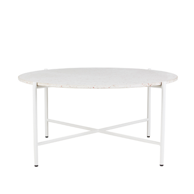 Bijoux Terrazzo Round Coffee Table in Rosa