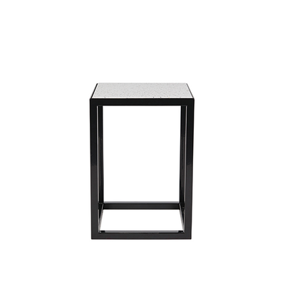 Bijoux Terrazzo Square Side Table in Cassata