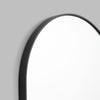 Bjorn Oval Small Mirror in Black