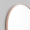 Bjorn Oval Small Mirror in Powder