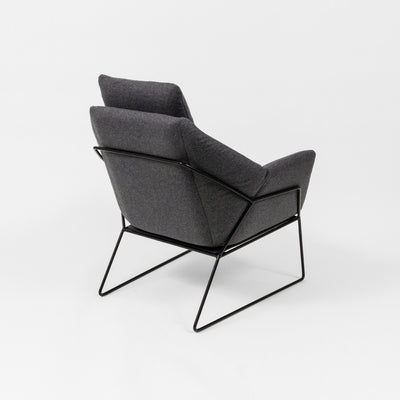 Middle of Nowhere Boden Chair in Grey/Black