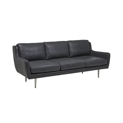 Bogart Charm Sofa Grey Leather