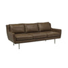 Bogart Charm Sofa Tan Leather