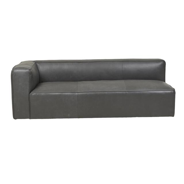 Globewest Bogart Cube Modular Sofa - Grey Leather