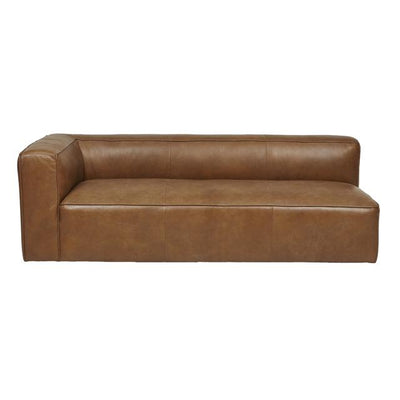 Globewest Bogart Cube Modular Sofa - Tan Leather