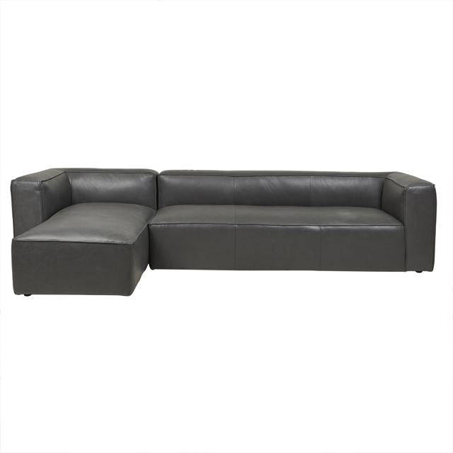 Globewest Bogart Cube Modular Sofa   Grey Leather