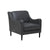 Bogart Slope Sofa Chair Grey Leather