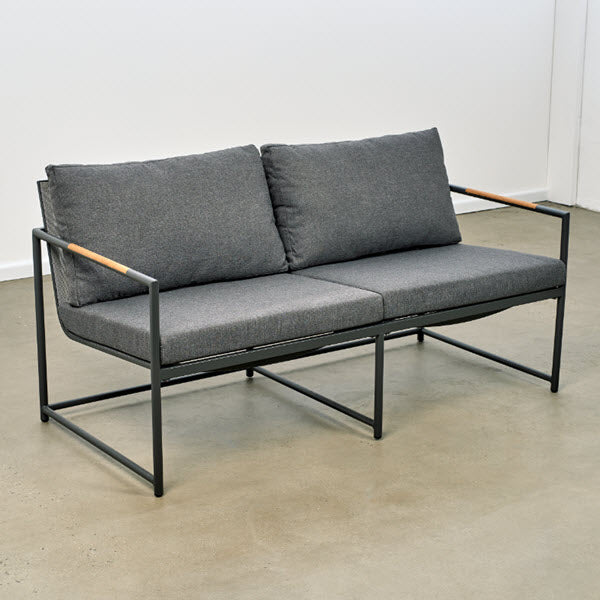 Bondi Outdoor Sofa  - Charcoal/Charcoal | Outdoor Furniture Melbourne