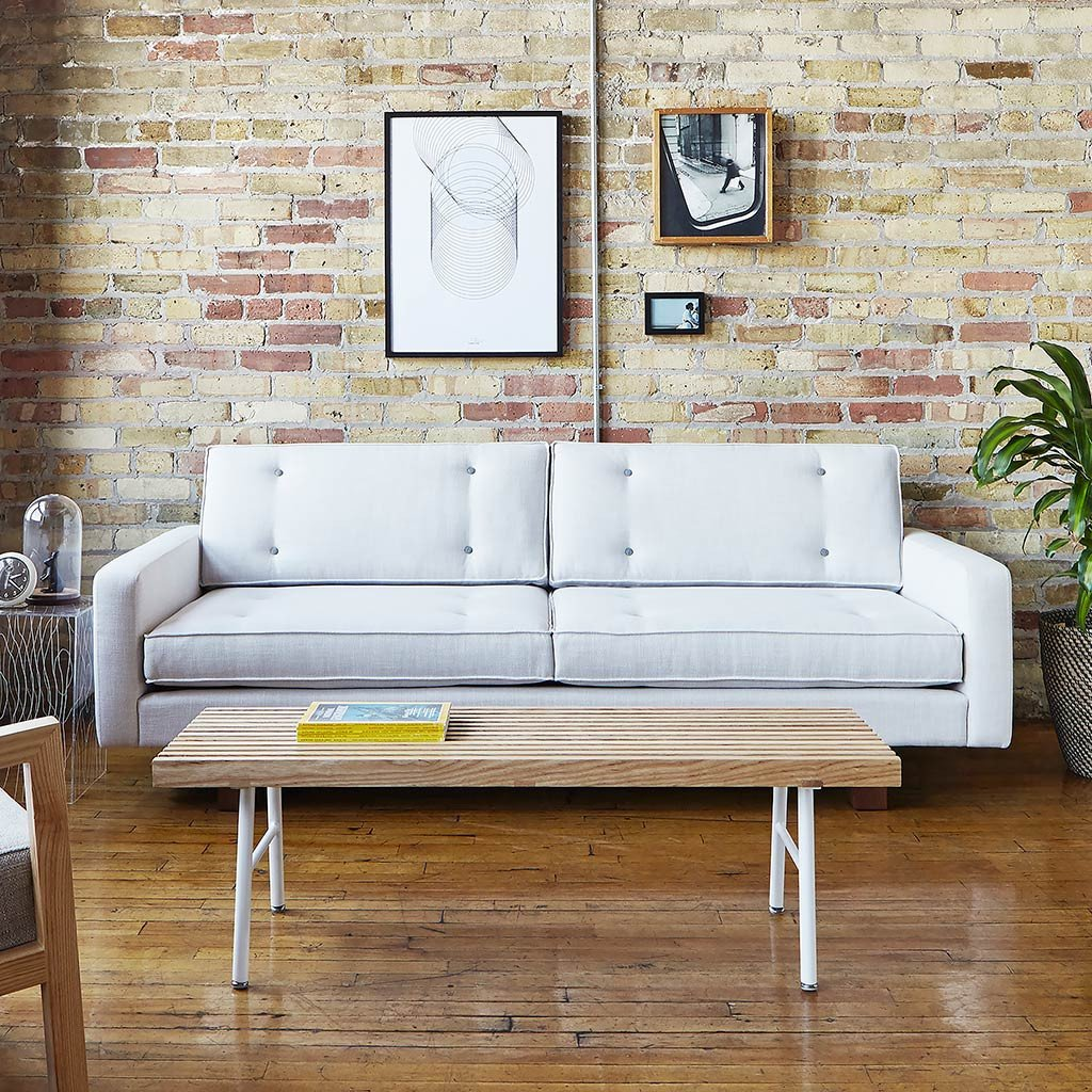 Gus Bradley Sofa - Cambie Parchment
