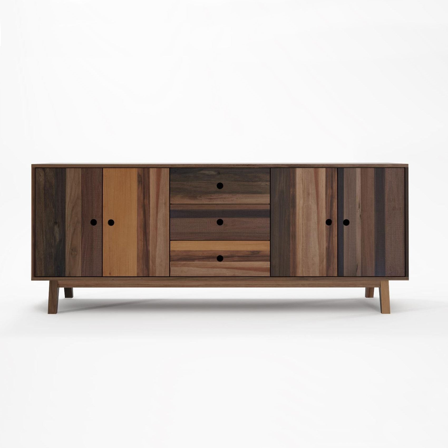 Brooklyn Sideboard 4 Doors 3 Drawers