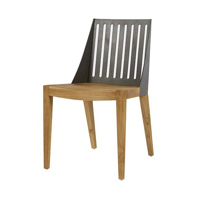 Calais Ali Chair Anthracite/Teak