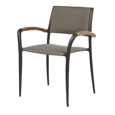 Calais Armchair in Mid Grey