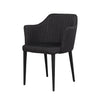 Carter Dining Chair Slate Grey Fabric