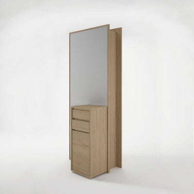 Karpenter Circa17 Mirror with Cupboard Oak
